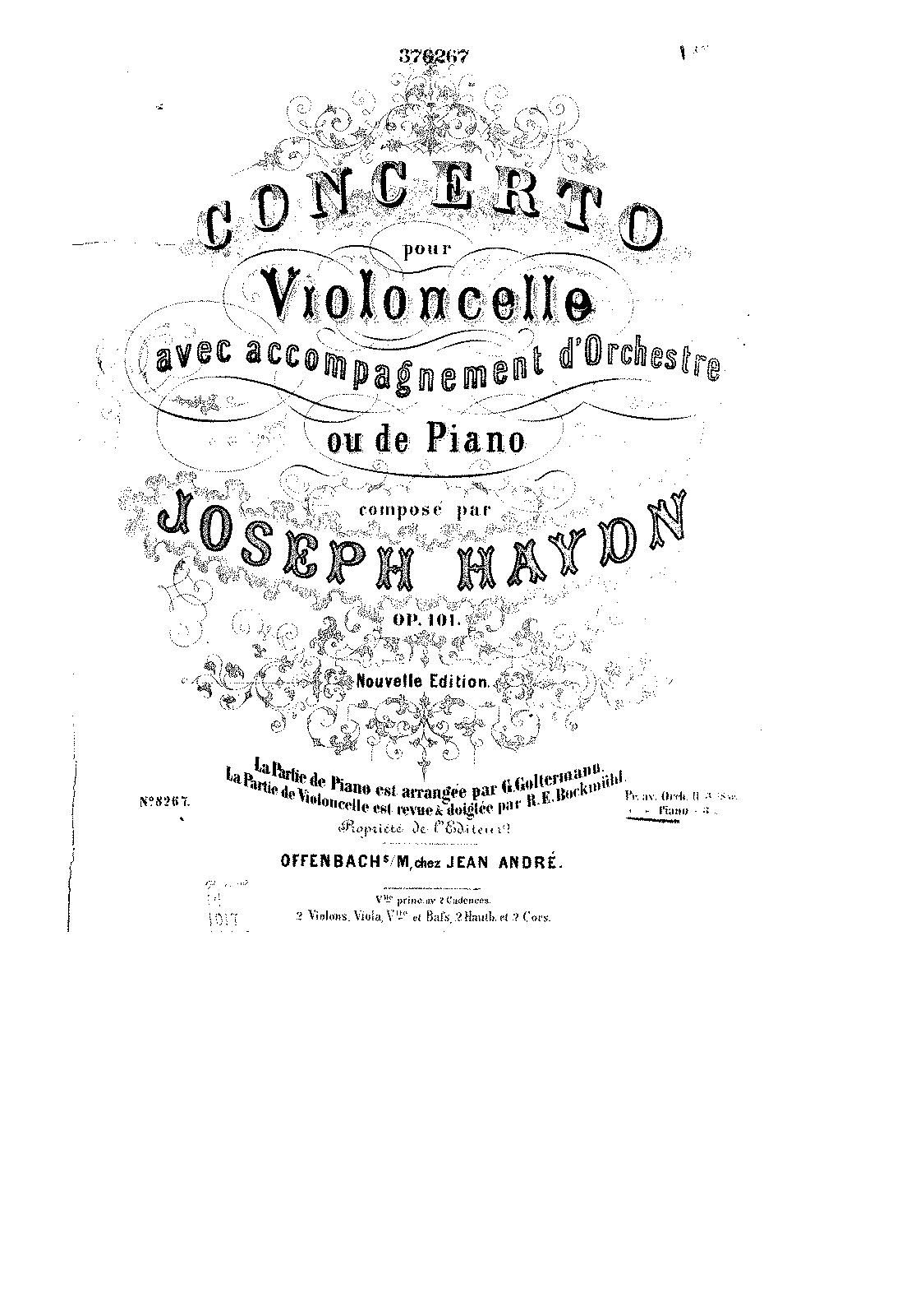 PMLP18850-Haydn - Cello Concerto Op101 (piano part Goltermann) (Cello part Bockmühl) score.pdf