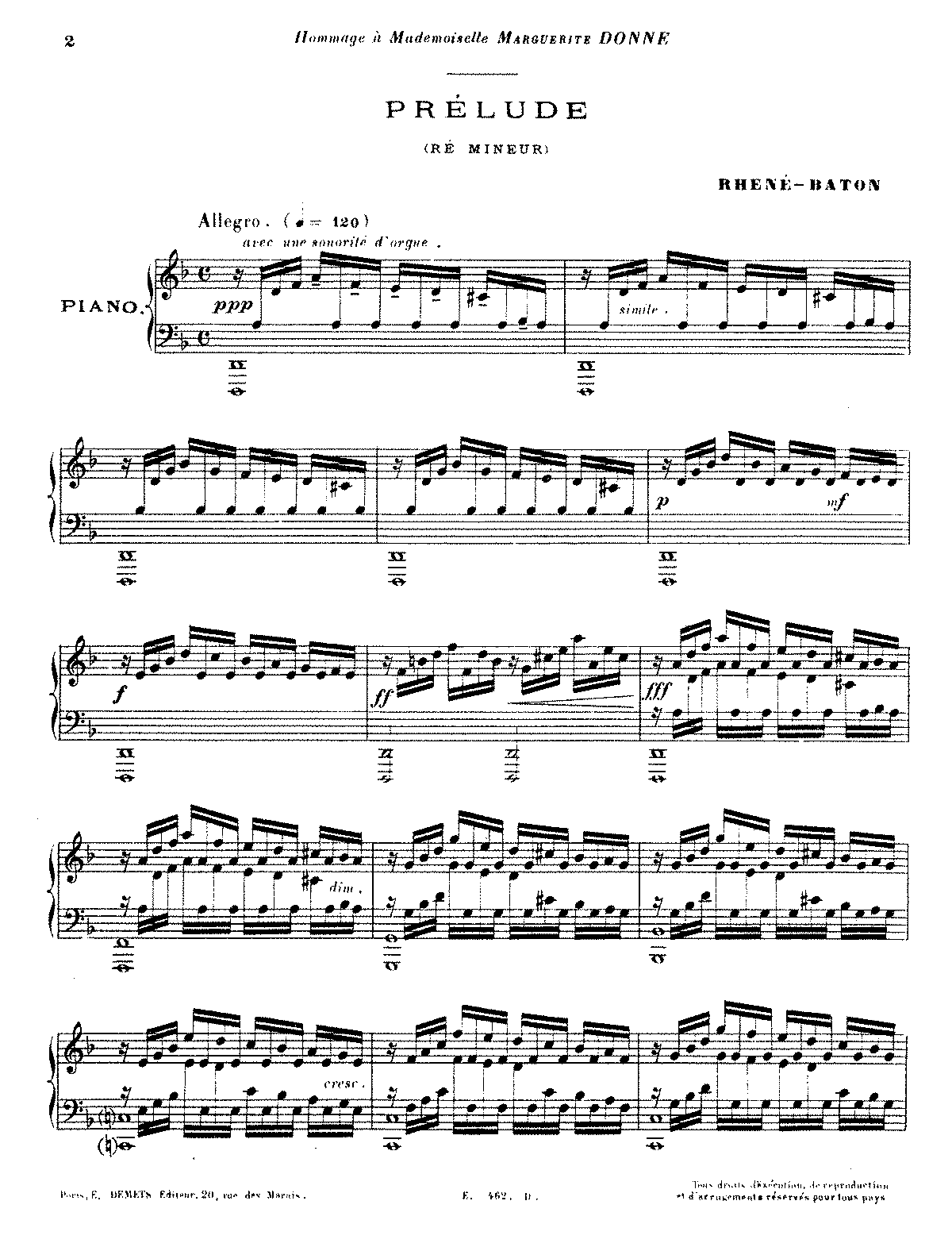 PMLP67046-Rhené-Baton - Prélude in d minor (piano).pdf