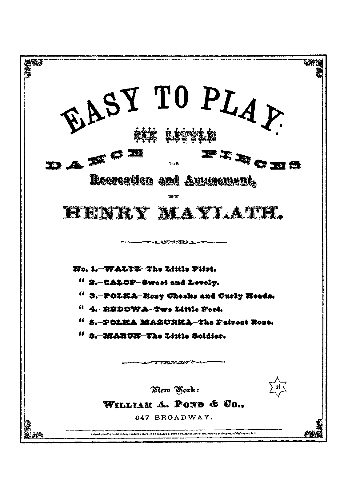 PMLP615172-Maylath - Easy to Play - 6 Little Dance Pieces.pdf