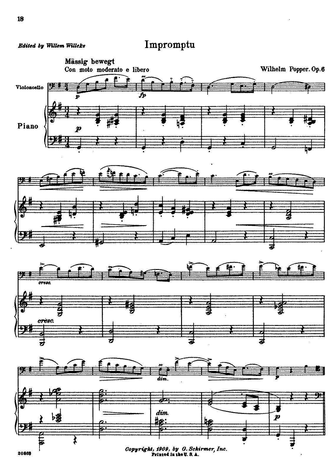 PMLP236806-Popper.Wilh - Impromptu Op6 (Willeke) for cello and piano.pdf