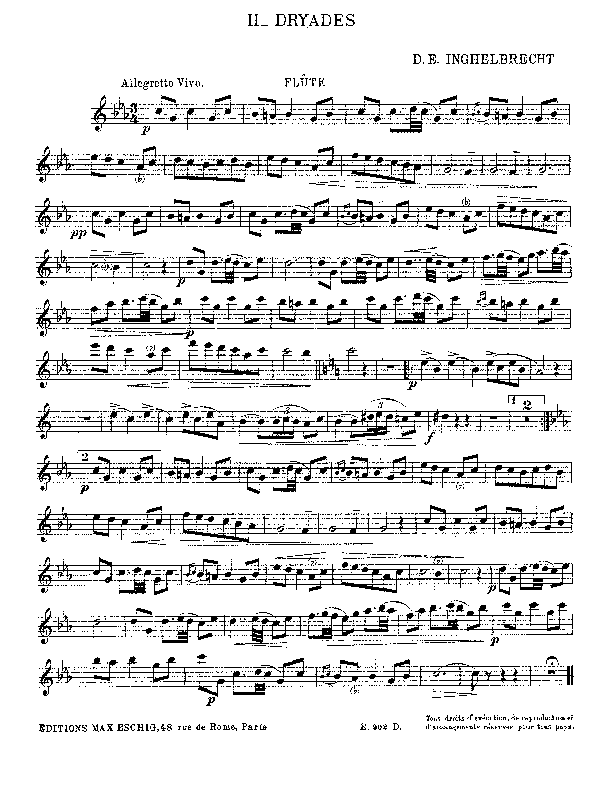 PMLP244573-Inghelbrecht - 2 Esquisses antiques - II. Dryades (flute and piano).pdf