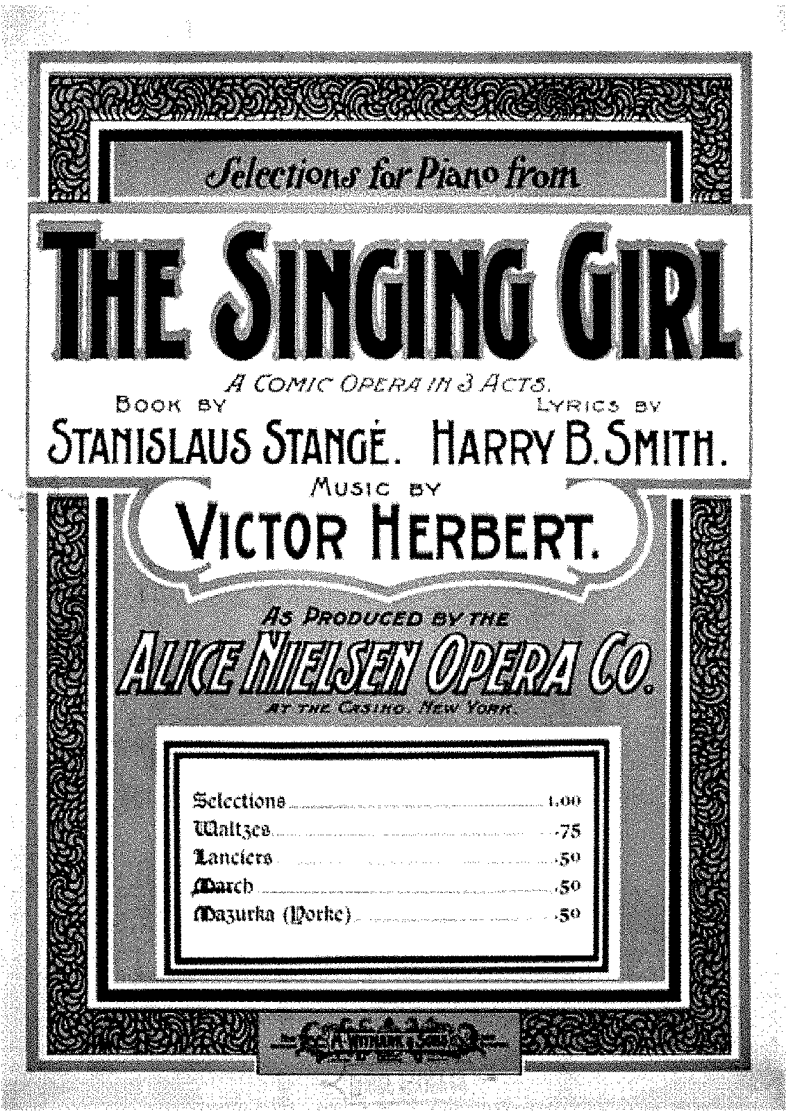 Herbert - The Singing Girl - March.pdf