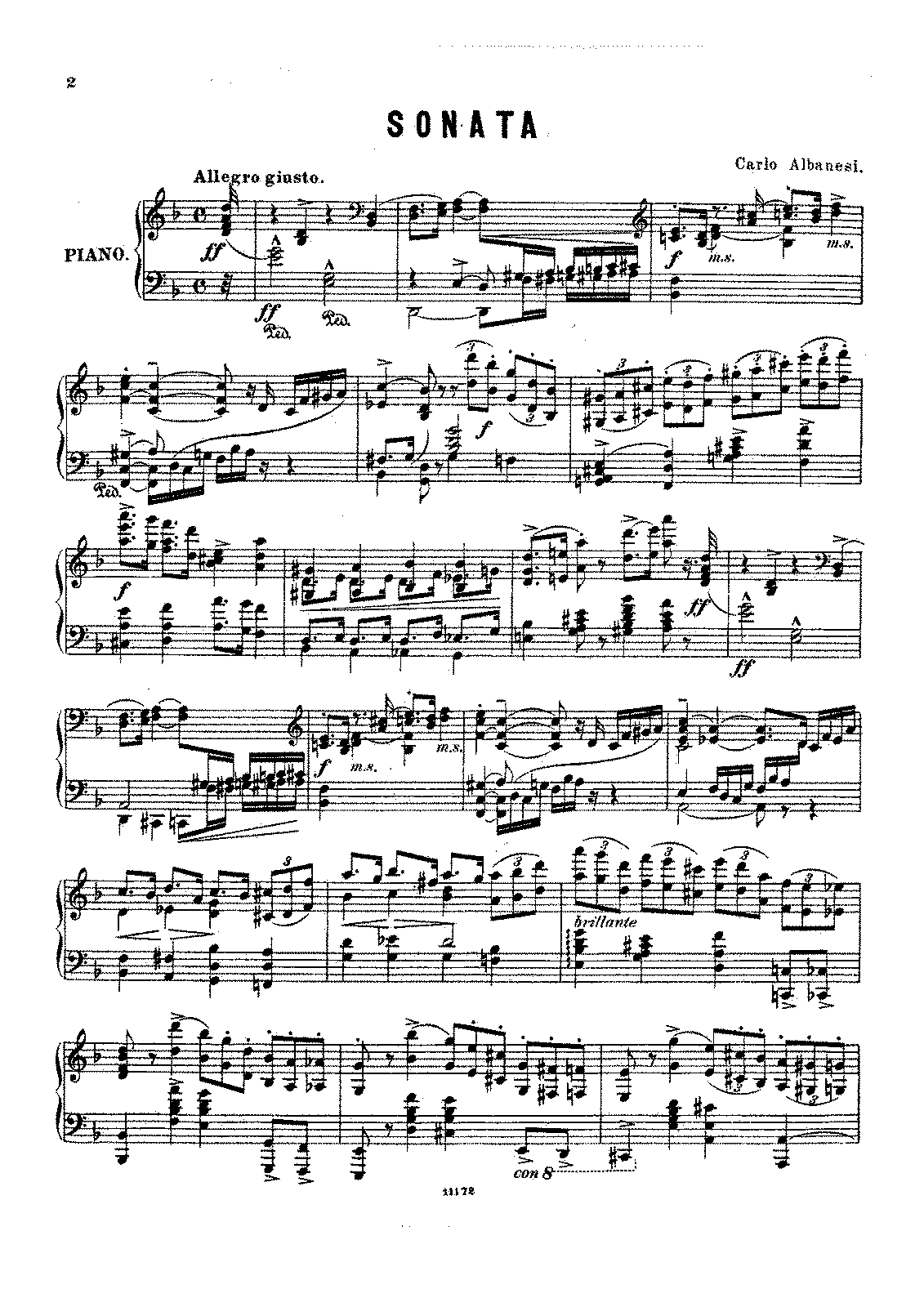 PMLP354695-Albanesi, Carlo - 1856-1930 - Sonata in D minor.pdf