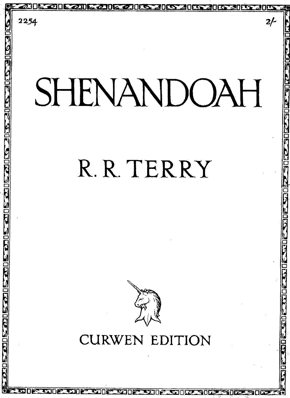 Shenandoah terry richard runciman imslppetrucci music javascript hexwebz Images