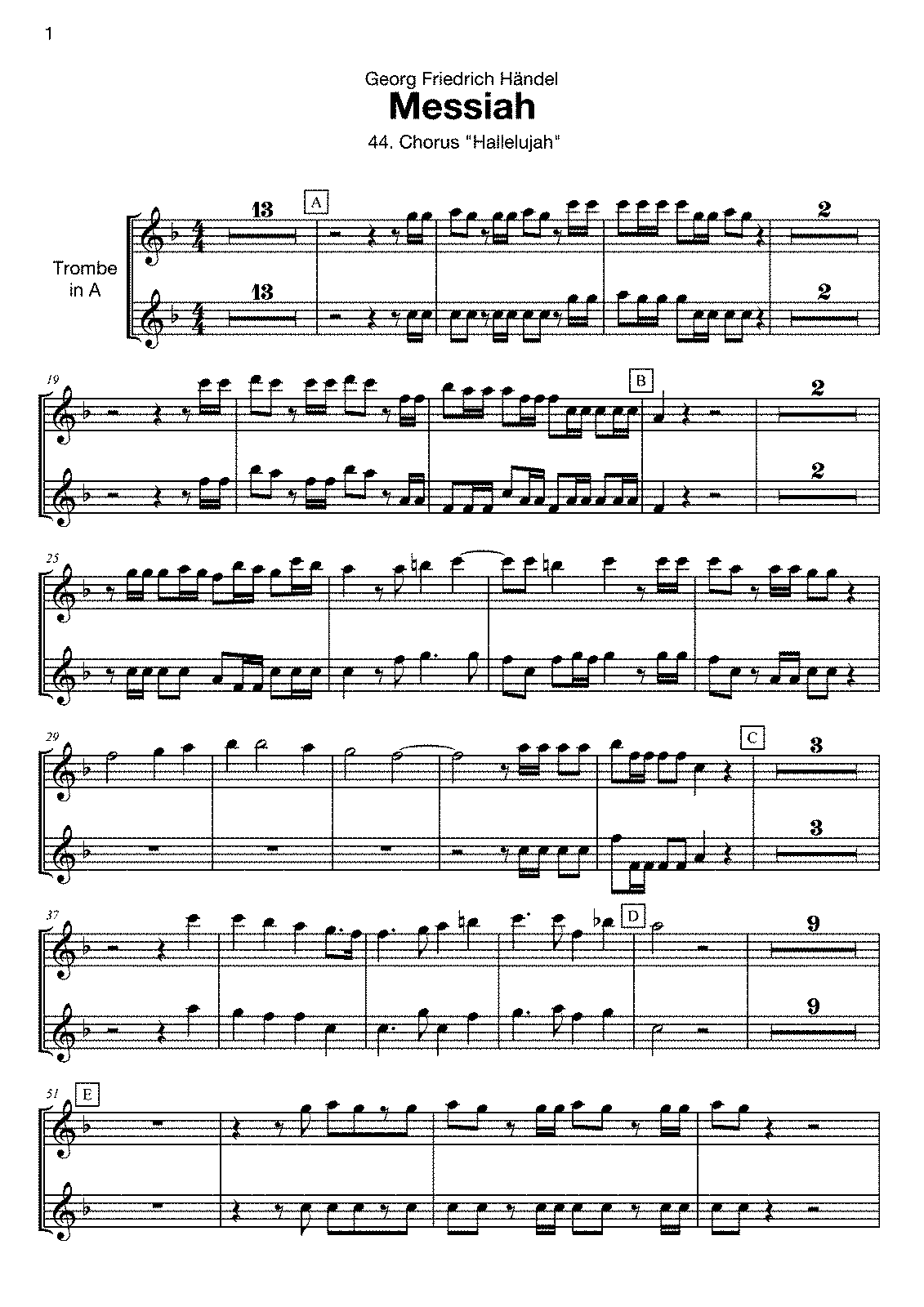 PMLP22568-Händel - Messiah - Hallelujah - Trp in A.pdf