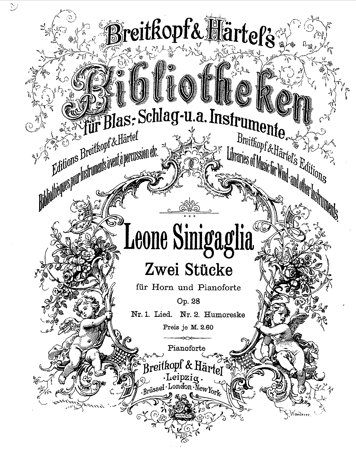 Sinigaglia, Leone - Zwei Stucke for Horn and Piano.pdf
