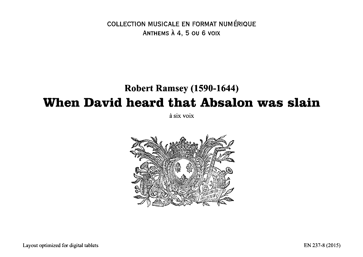 PMLP628405-Ramsey R - When David heard that Absalon... - EN237-08(2015).pdf