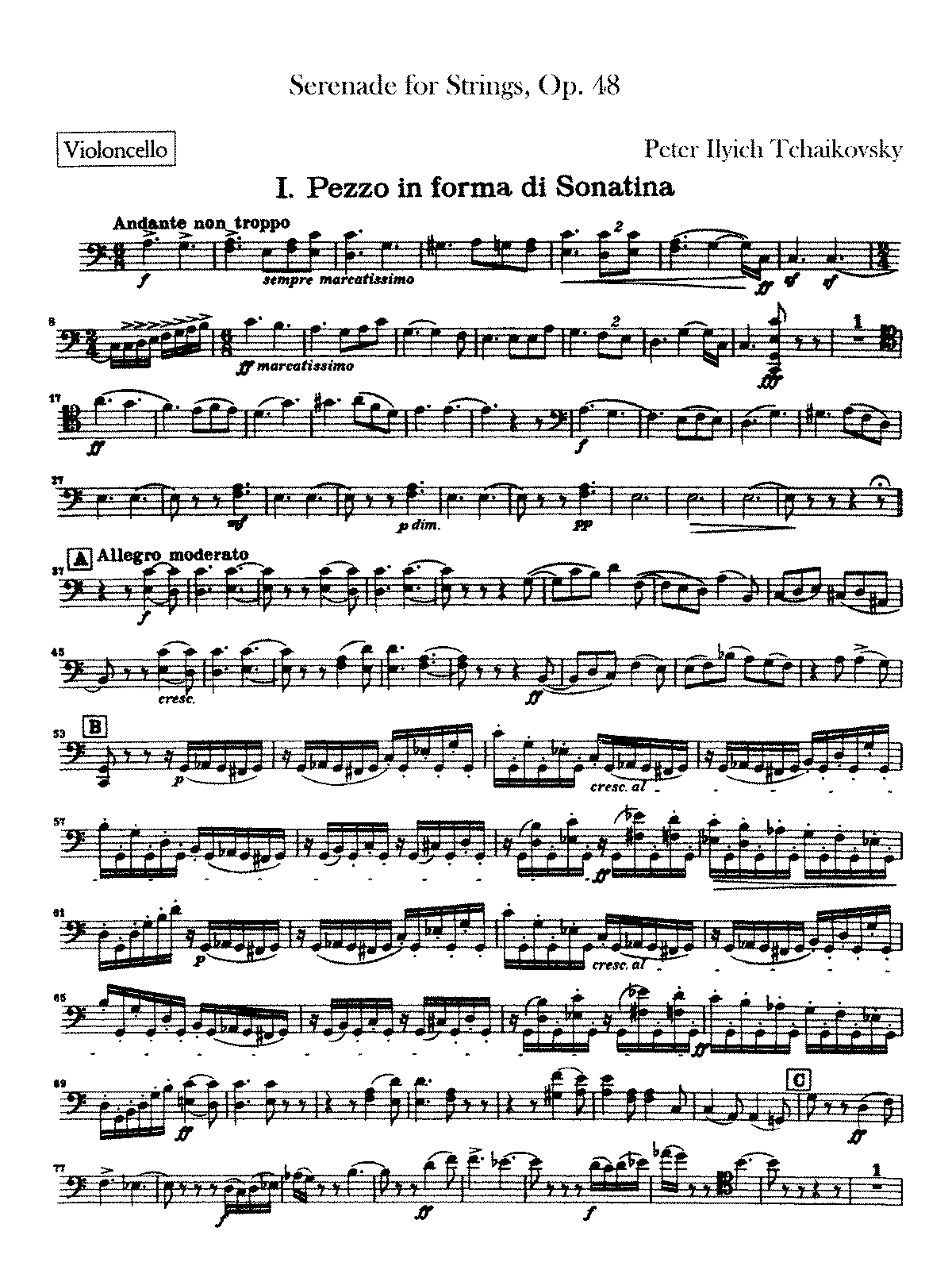 PMLP04623-Tchaikovsky - Serenade for Strings Op48 (cello-part)a.pdf