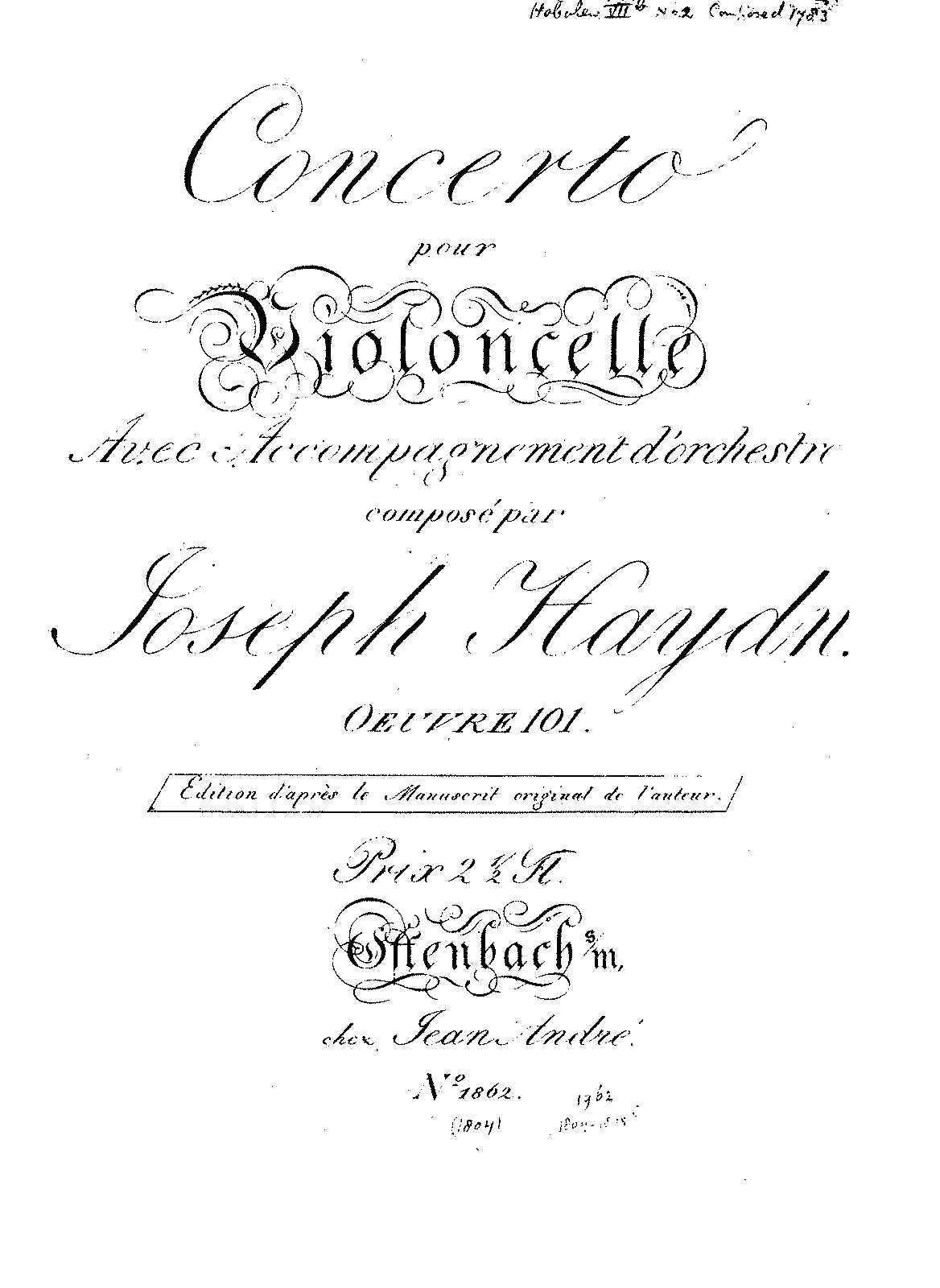 PMLP18850-Haydn - Cello Concerto in DM Op101 (Andre) CelloSolo.pdf