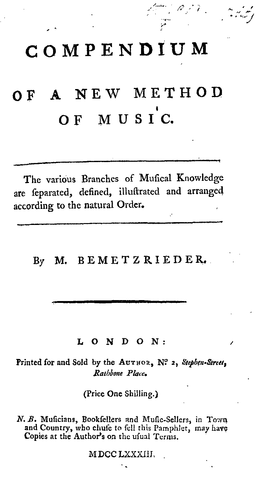 PMLP139964-bemetzrieder Compendium of a new method of music 1783.pdf