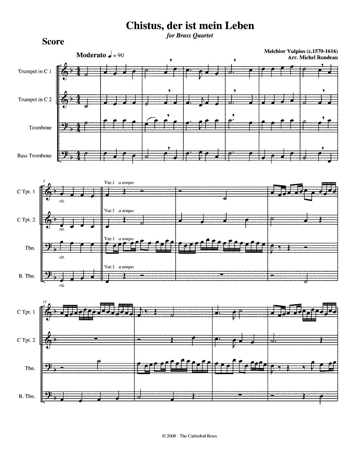 melchior vulpius composer