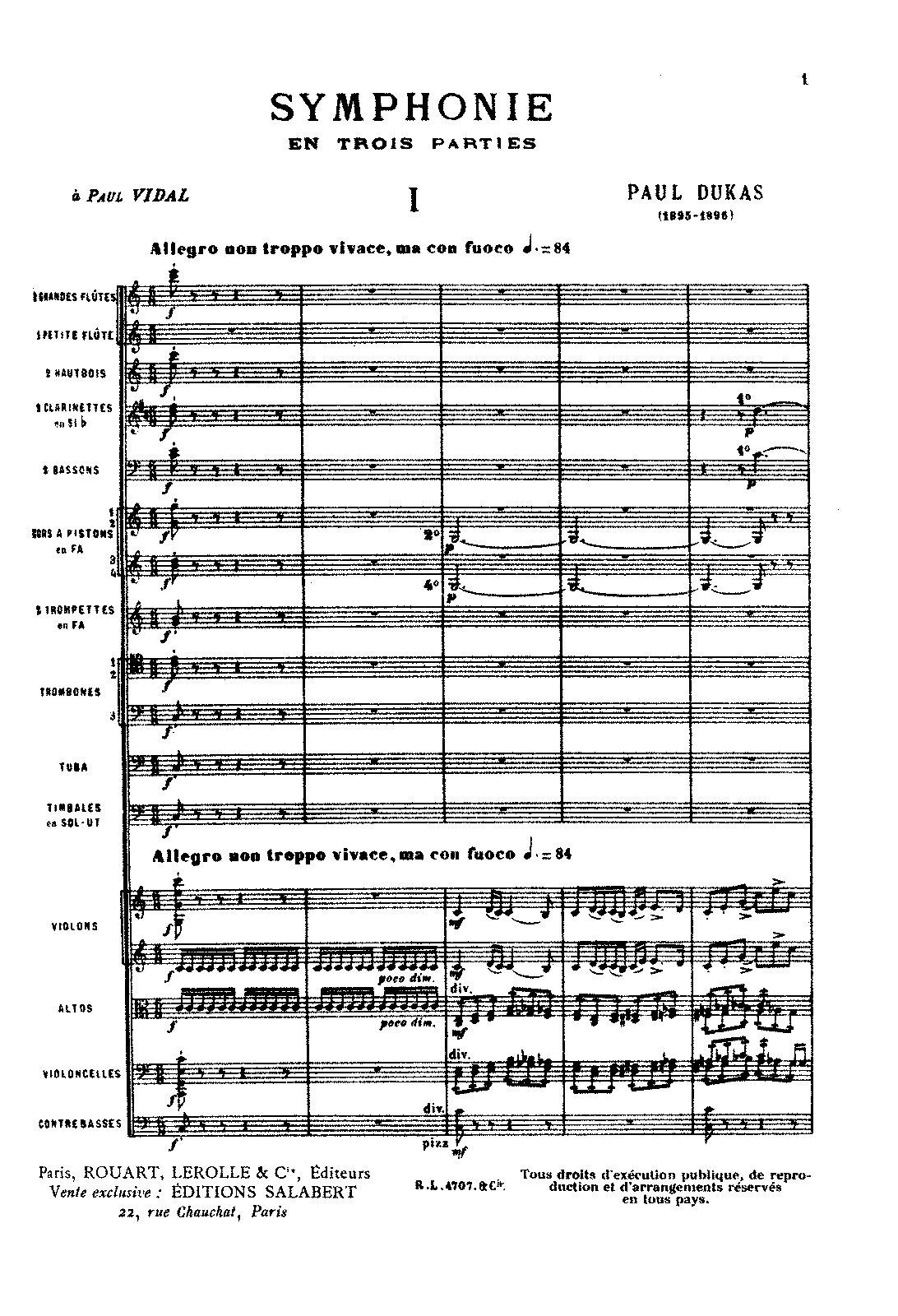 Dukas - Symphony in C (orch. score).pdf