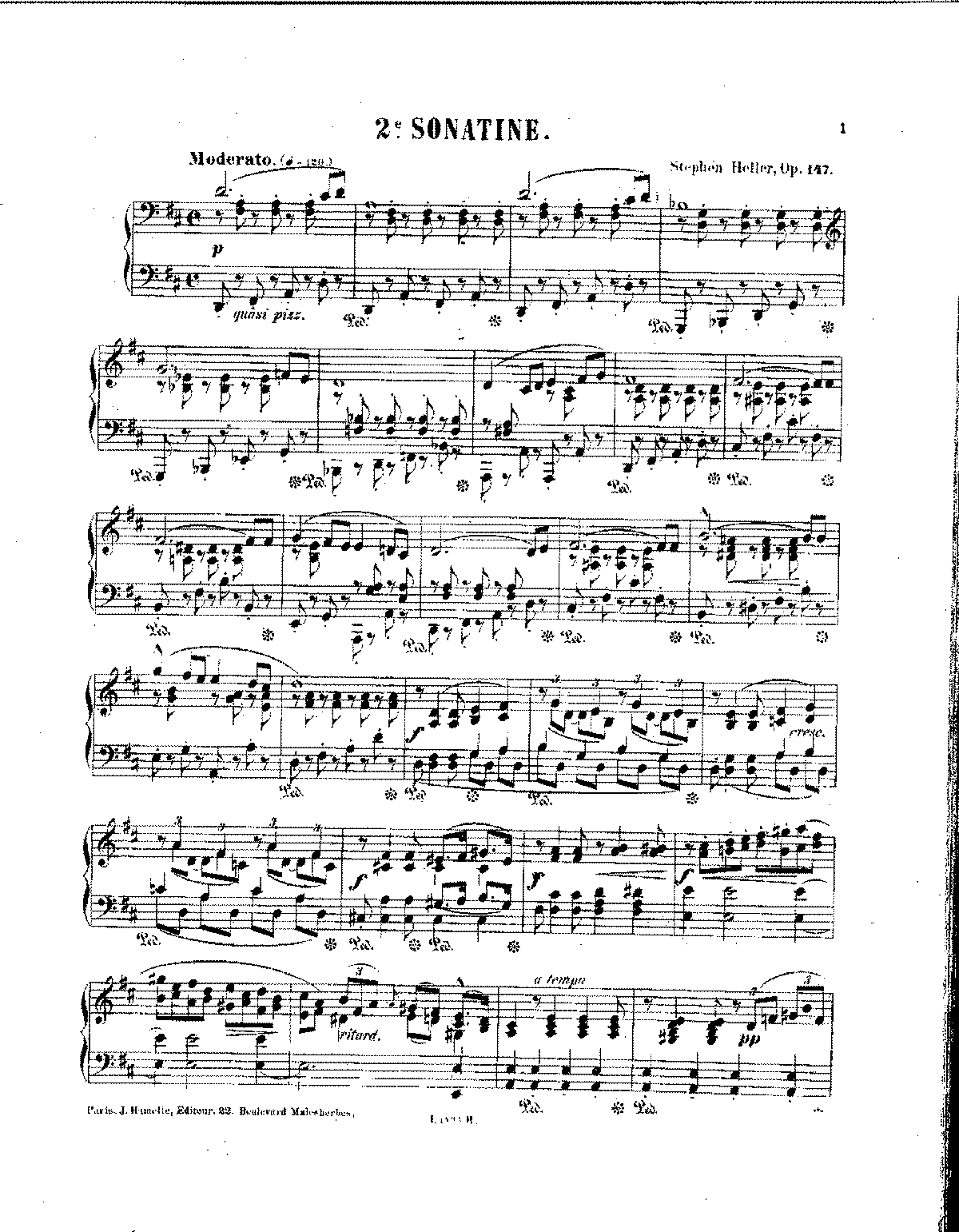 Heller - Op.147 - Sonatine No.2 in D Major.pdf