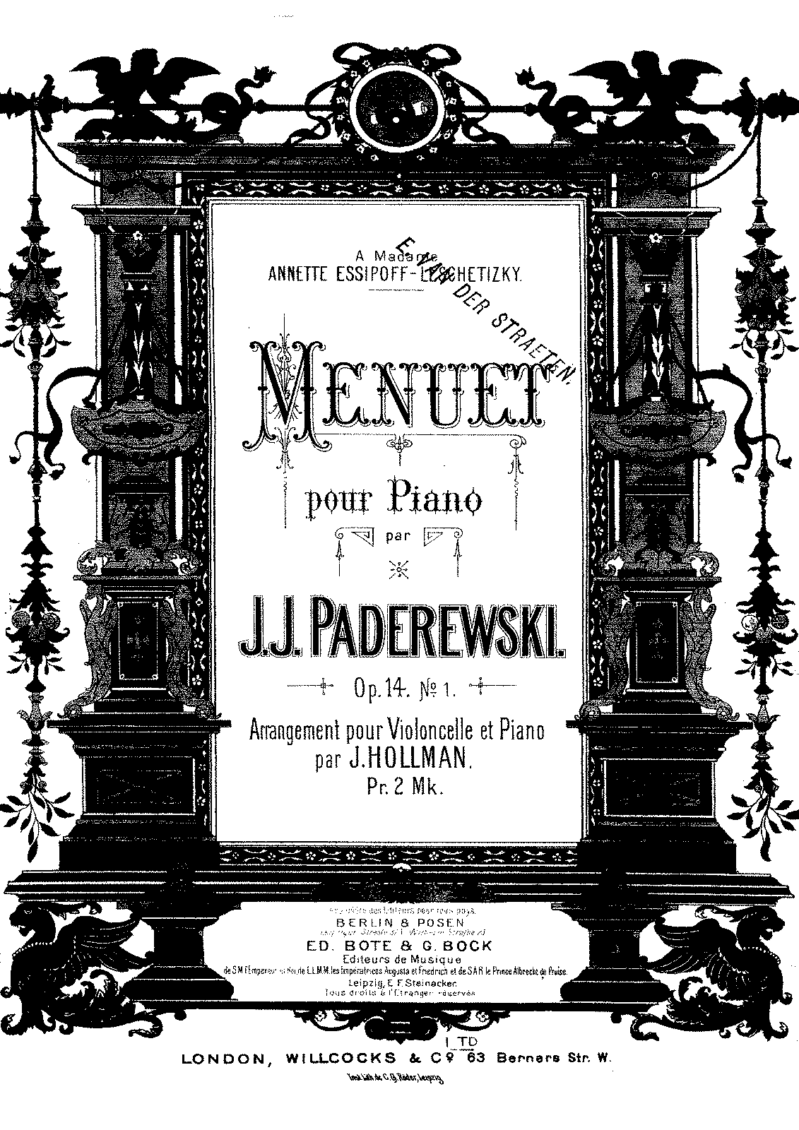 PMLP06746-Paderewski Menuet Op14 no1 for Cello and Piano.pdf