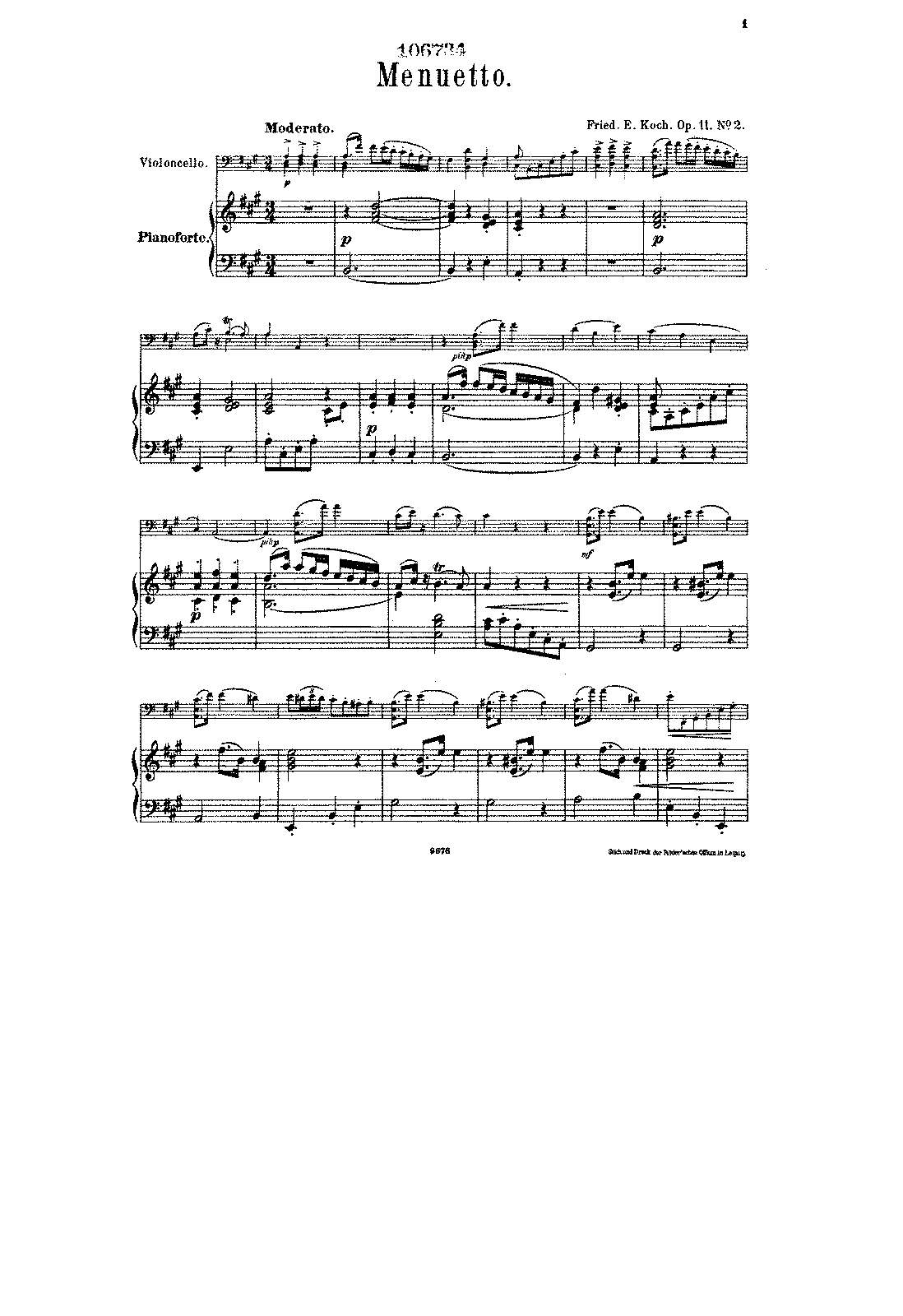 PMLP137734-Koch - Menuet for Cello and Piano Op11 No2 (from 4 Tanzstücke) score.pdf