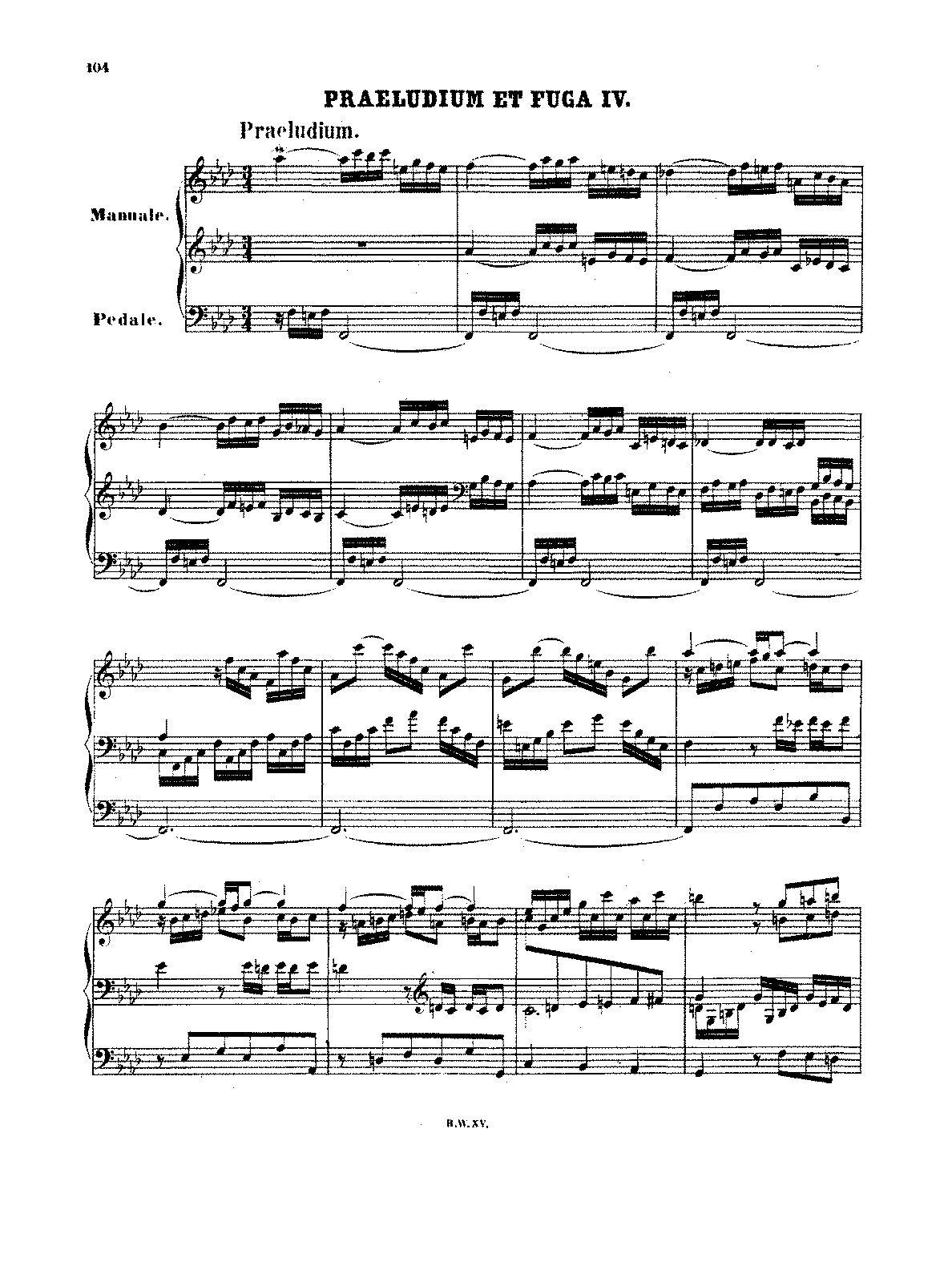 preludium c major bach