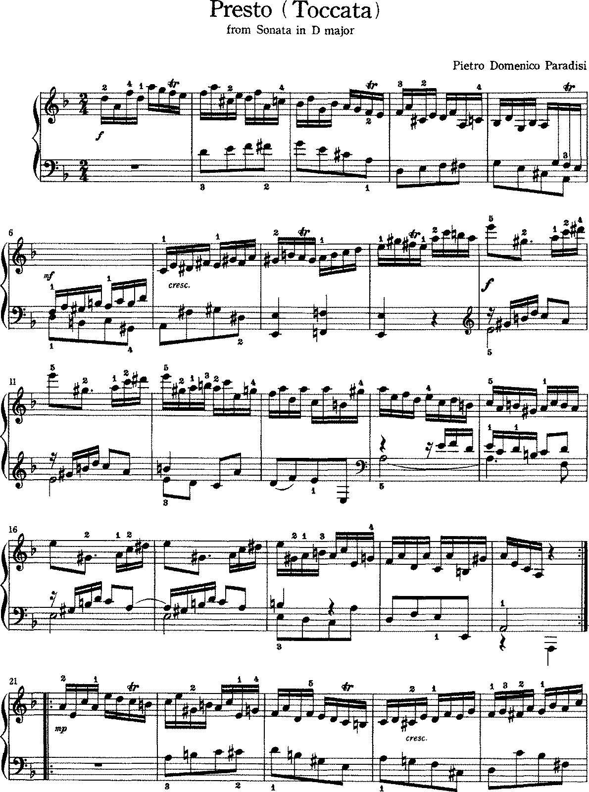 Paradies - Toccata in D (From Sonata in D).pdf