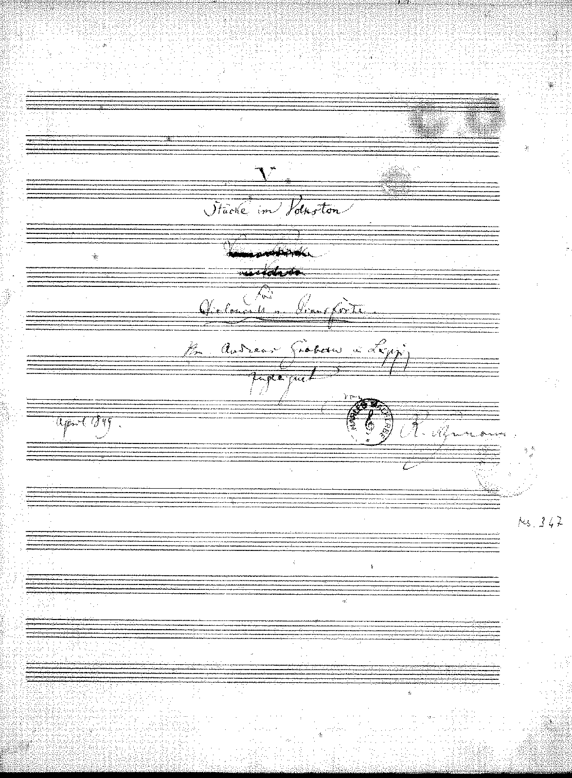 PMLP54967-Schumann - 5 Stucke im Volkston for Cello and piano (1849) manusc.pdf