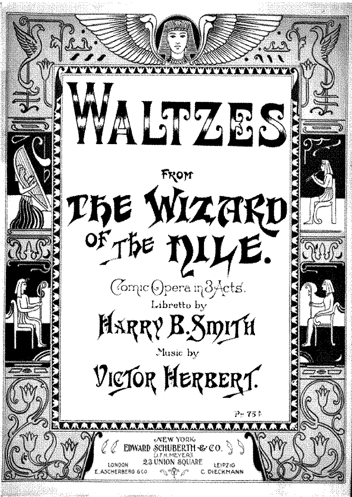 Herbert - The Wizard of the Nile (Waltzes).pdf