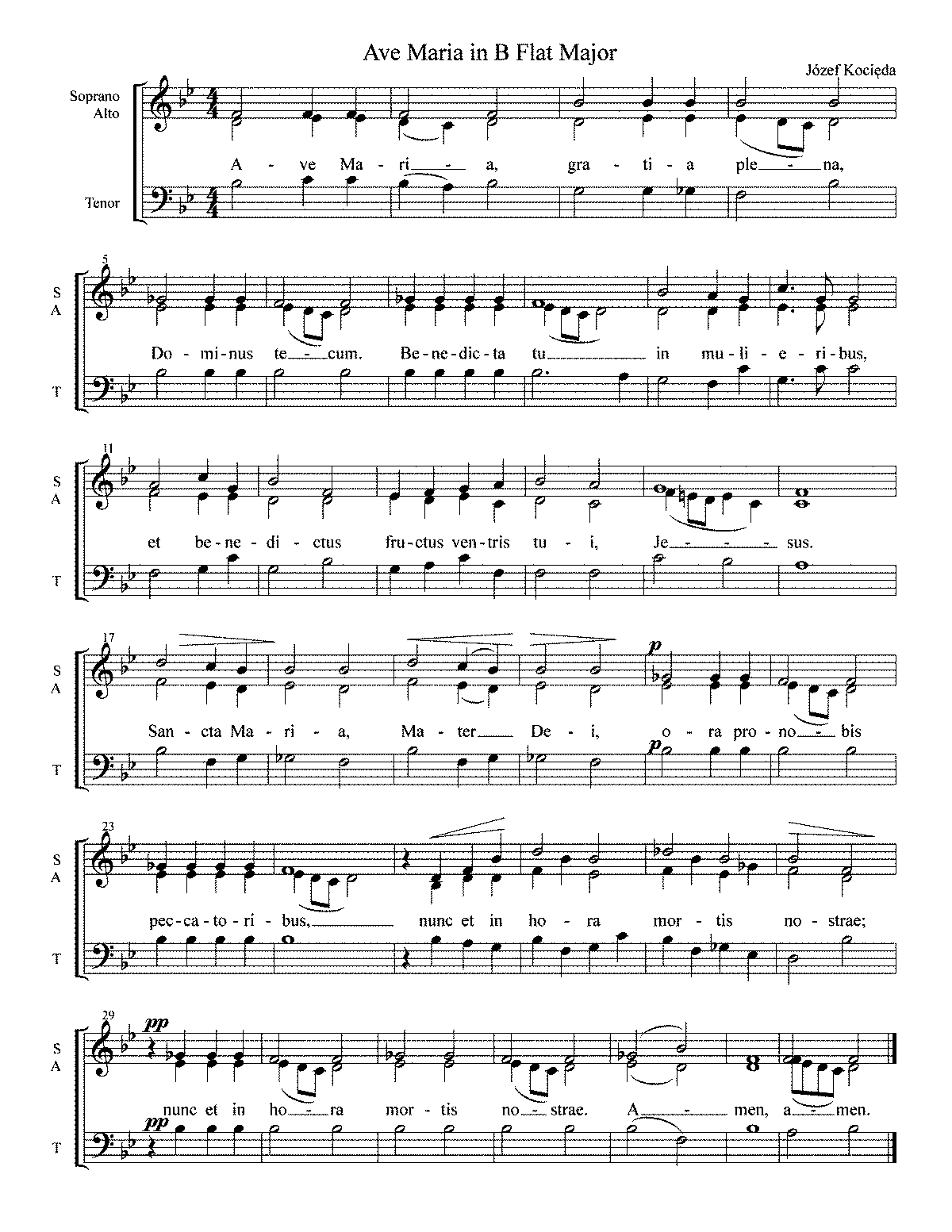 PMLP629774-Ave Maria in B Flat Major - Józef Kocieda.pdf