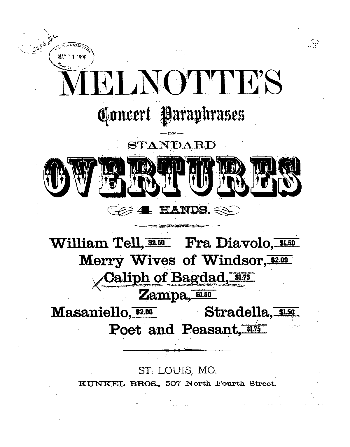 Melnotte Caliph of Bagdad overture piano 4 hands.pdf