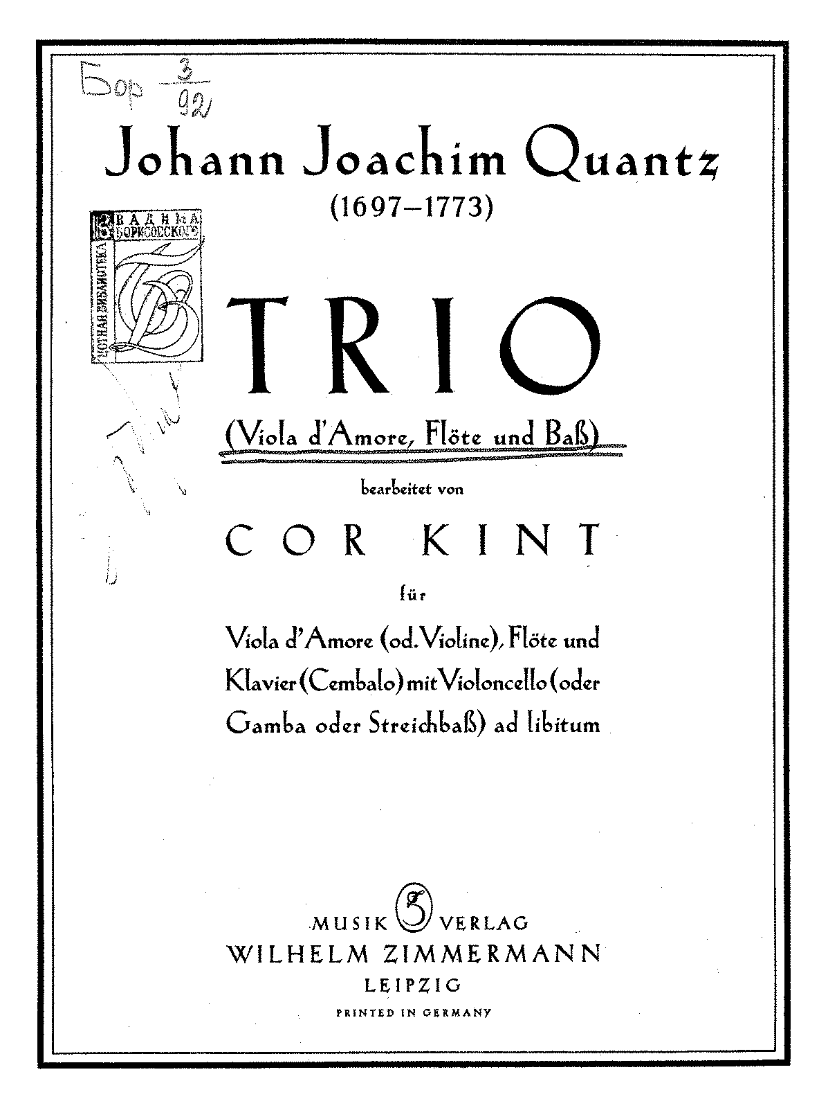 PMLP75024-Quantz - Trio (Kint) for Viola d'Amore (or Violin) Flute and Piano and cello ad lib.pdf