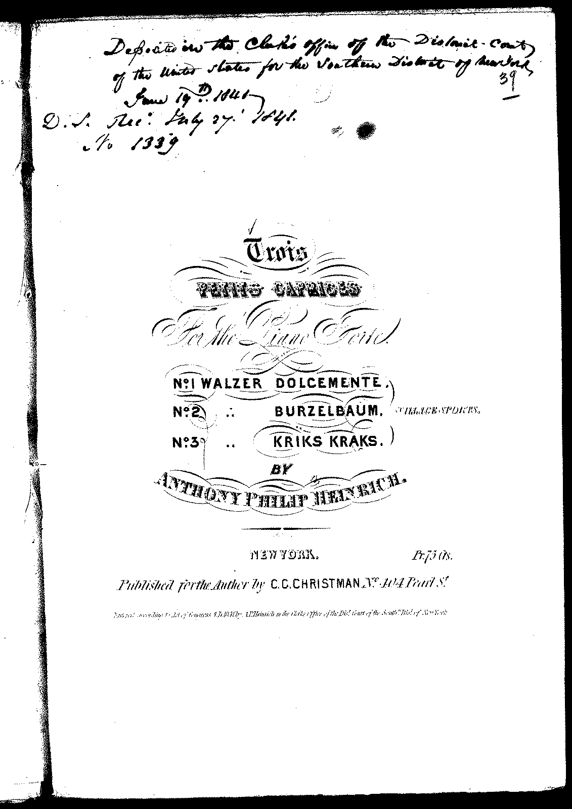 Heinrich - Three Petits Caprices (Walzer).pdf