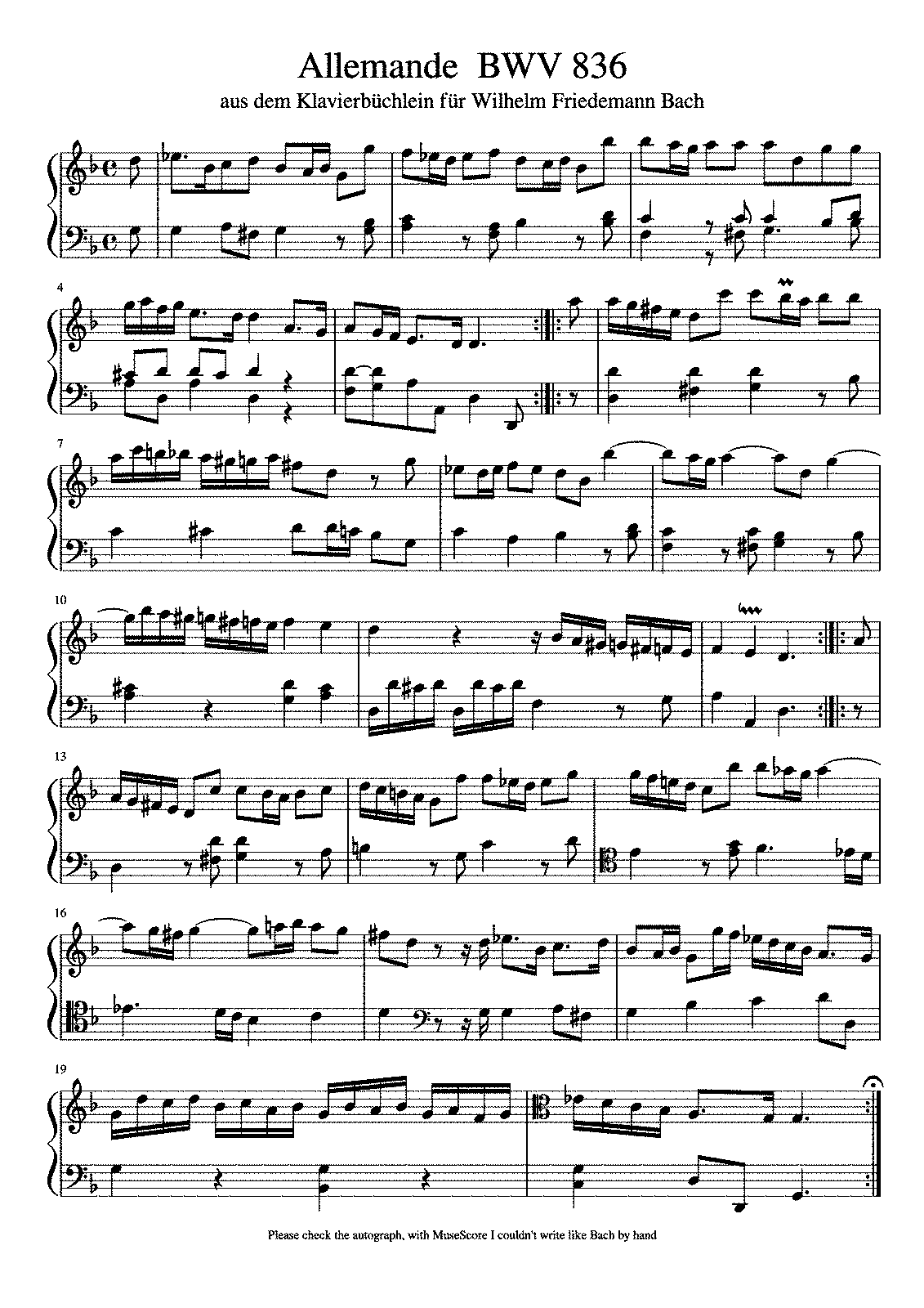 an analysis of the allemande from the english suite no 3 in g minor js bach