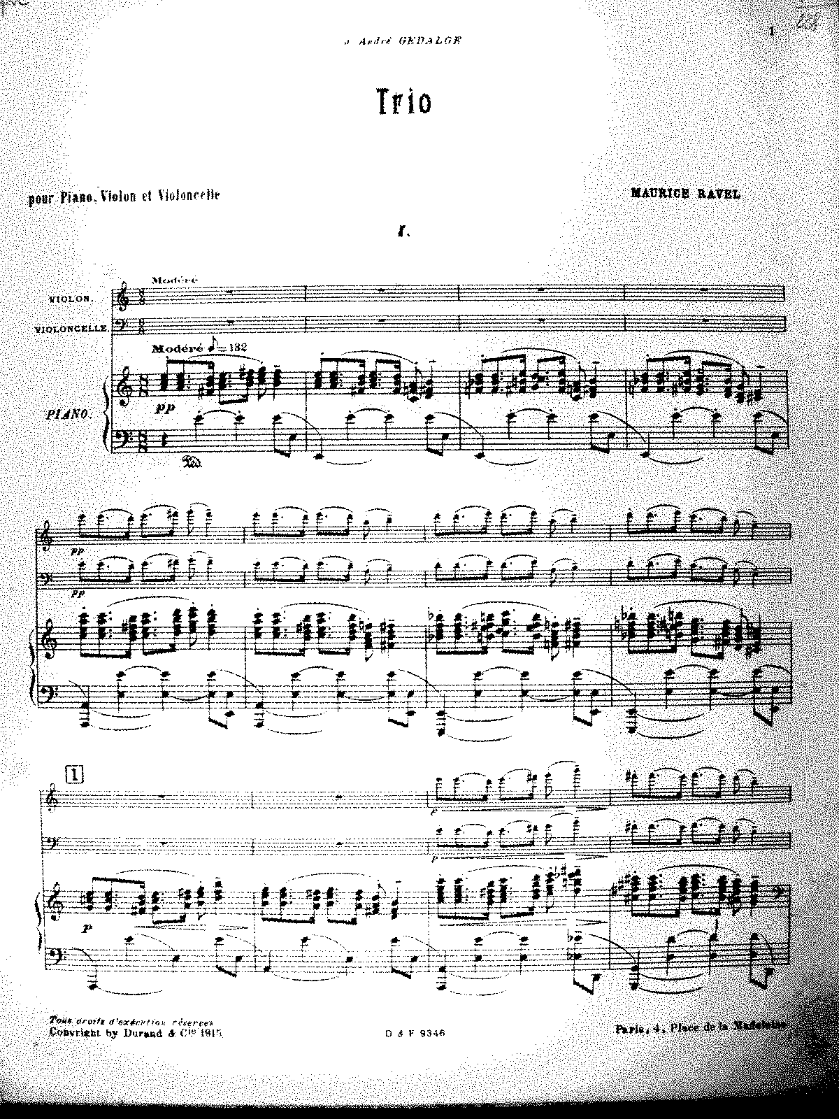 Ravel - Piano Trio (score, color).pdf