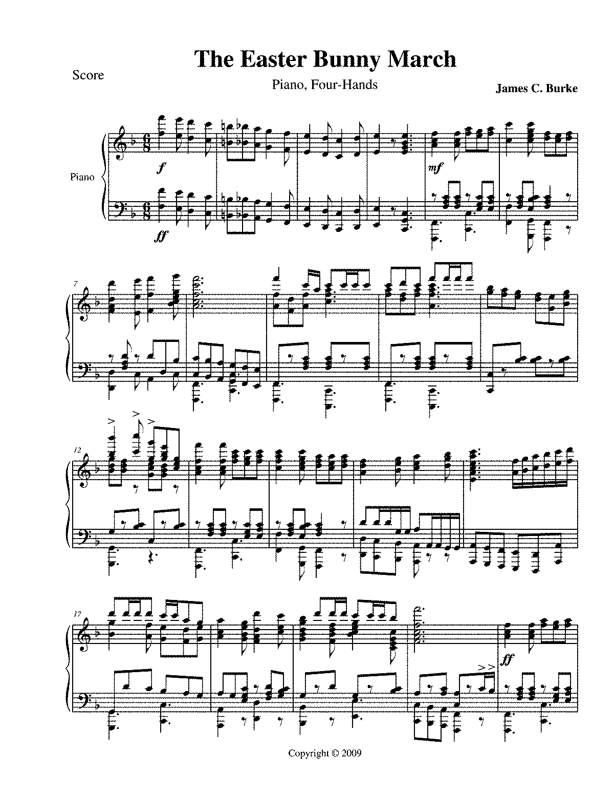 PMLP93092-Burke - The Easter Bunny March (piano 4 hands).pdf