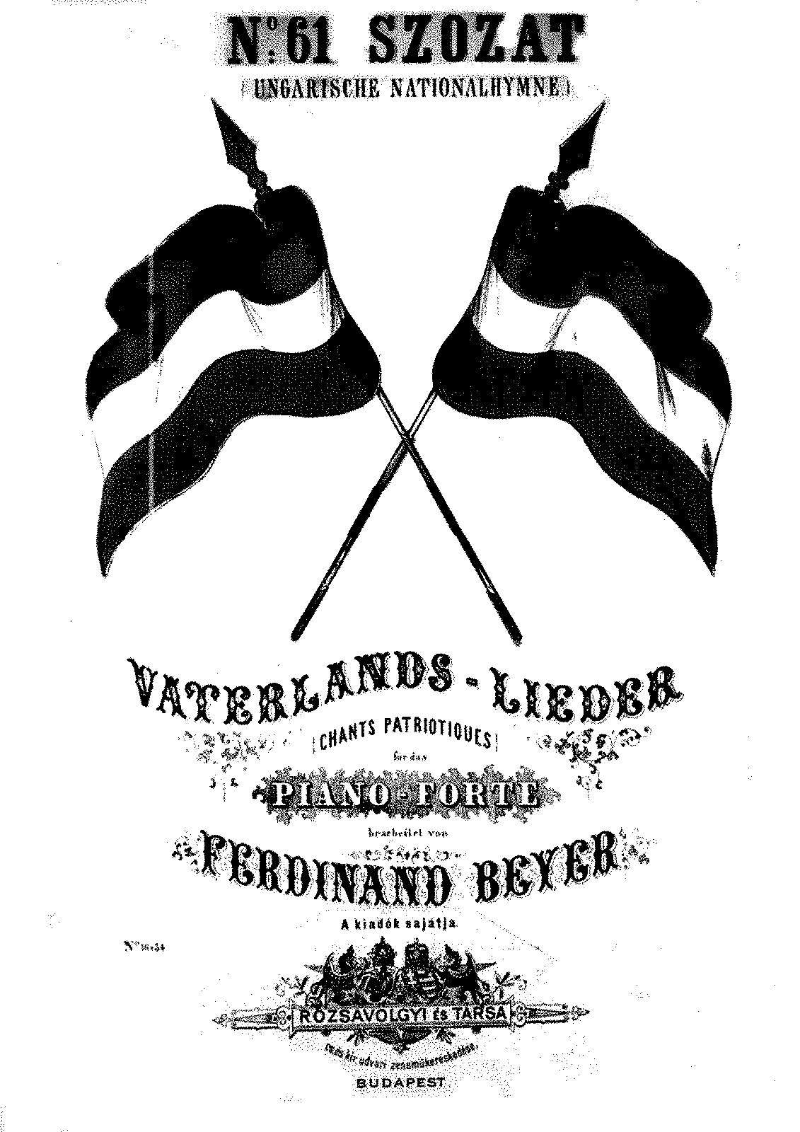 PMLP215418-Beyer - Vaterlands-Lieder no 61 Ungarische Nationalhymne.pdf