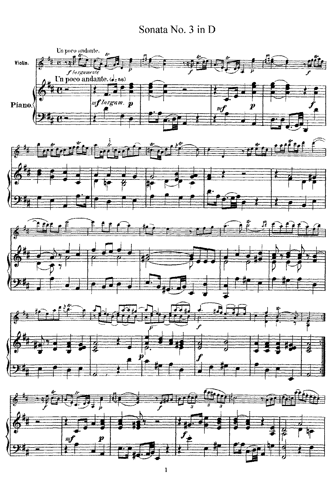 Leclair - Violin Sonata No.3 in D Major.pdf