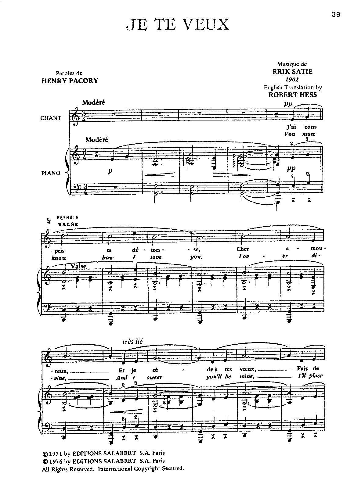 Satie - Je te Veux (voice and piano).pdf