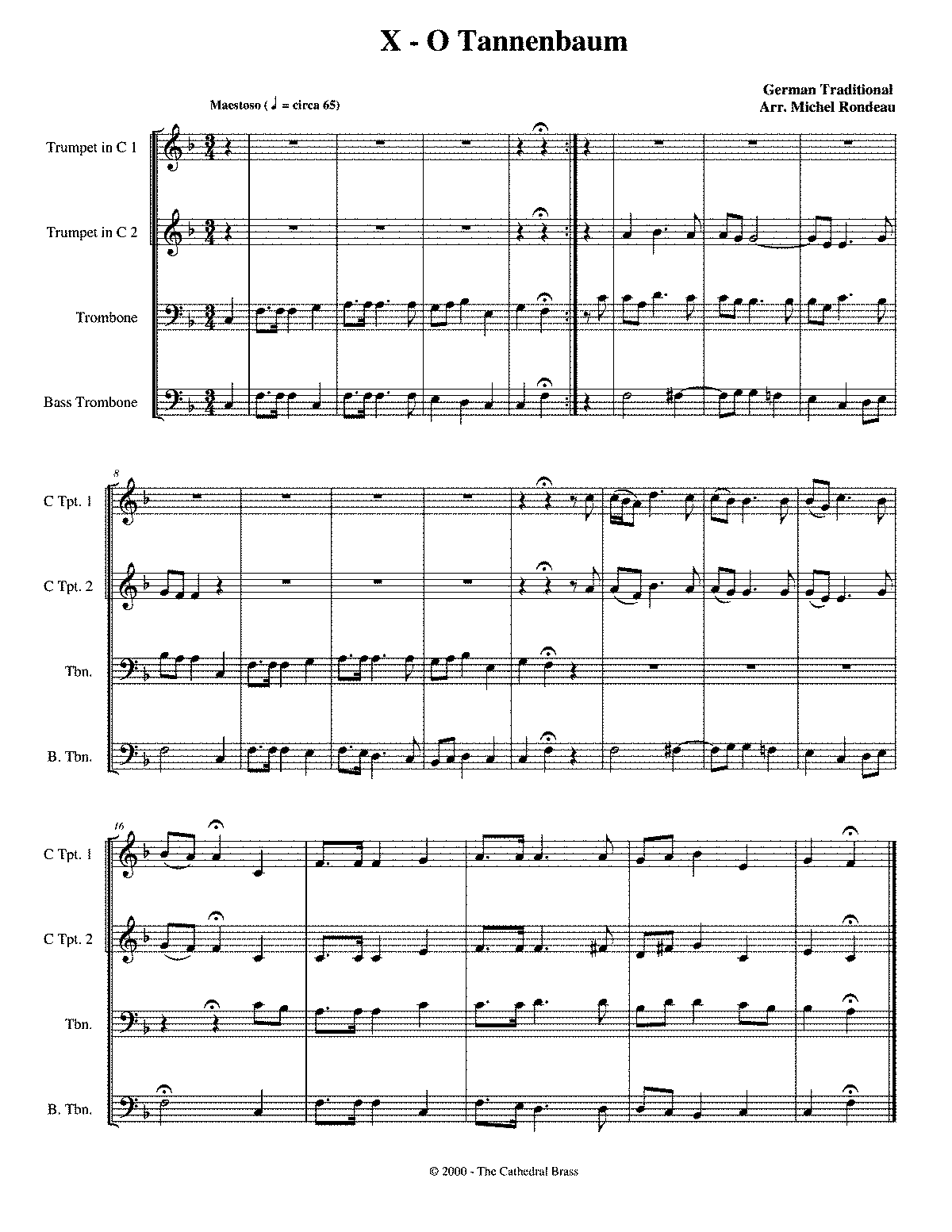 O tannenbaum rondeau michel imslp petrucci music for Obi tannenbaum