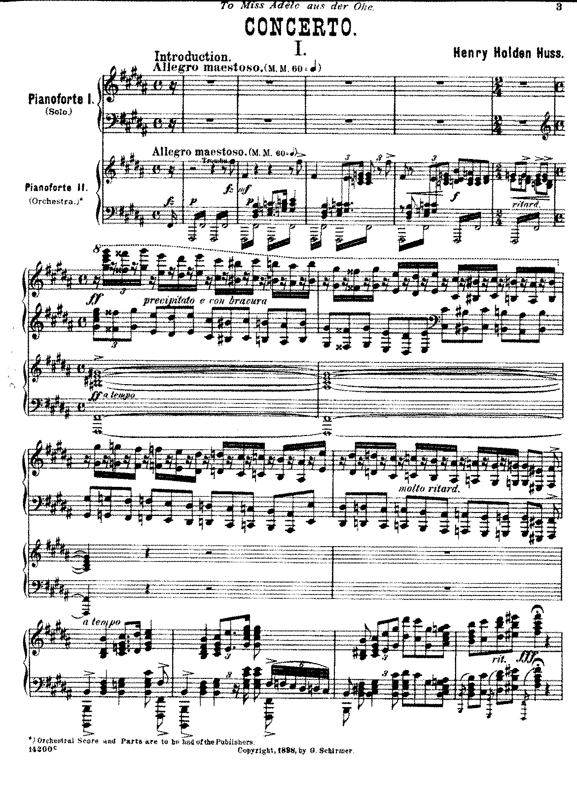 composer of piano concertos