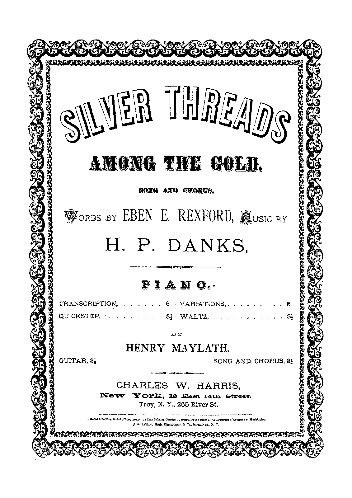 PMLP62624-Maylath - Transcription - Danks - Silver Threads among the Gold.pdf