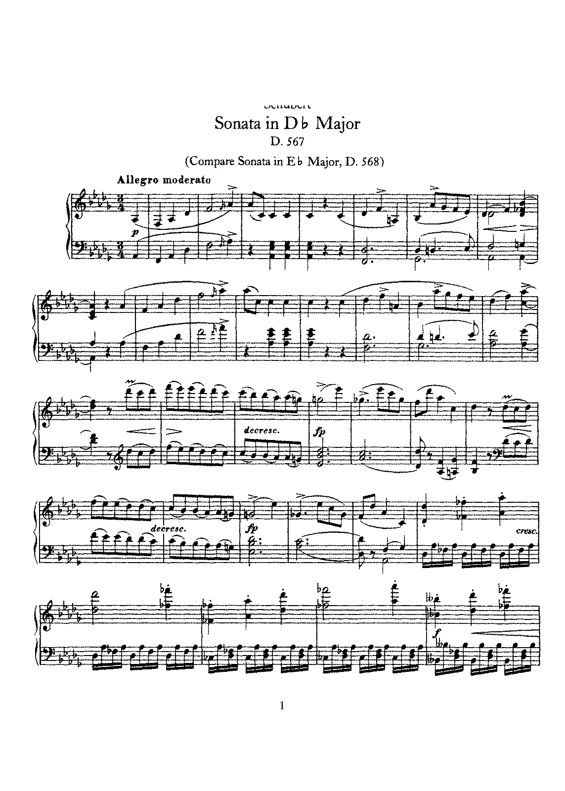 Schubert - D.567 - Piano Sonata in Db Major.pdf