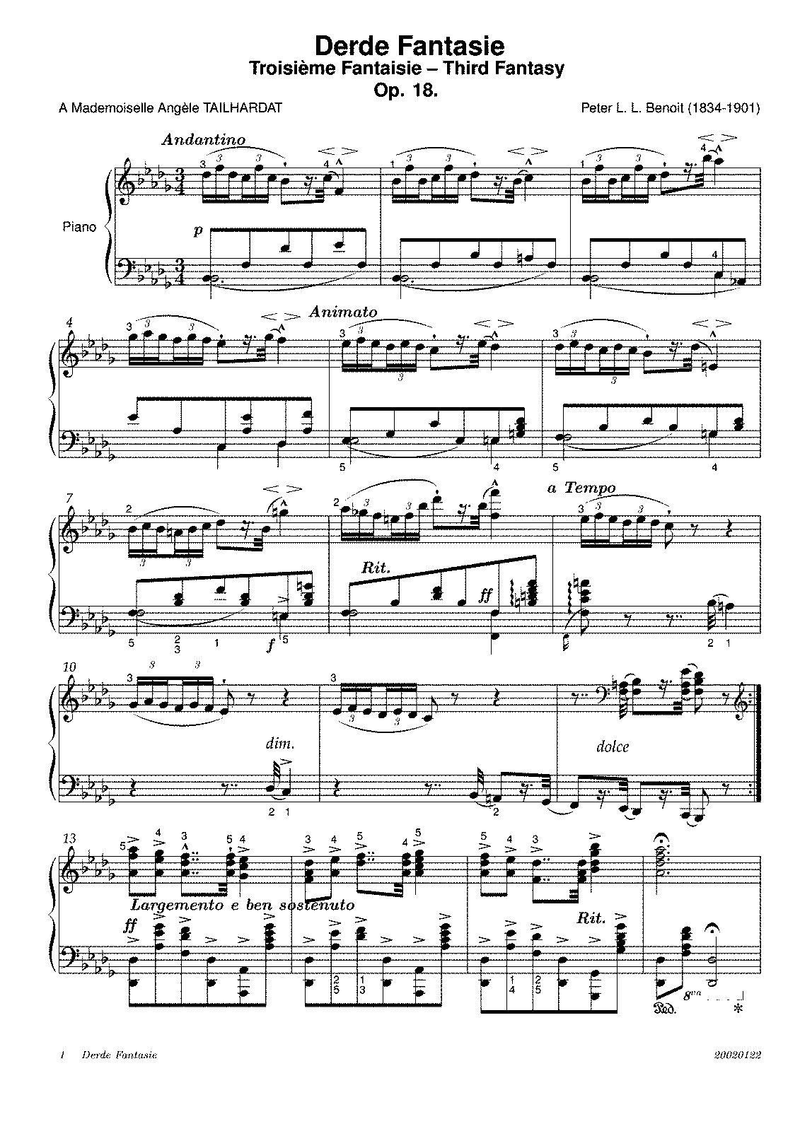 Fantaisie no3 op18 benoit peter imslppetrucci music sheet music hexwebz Gallery