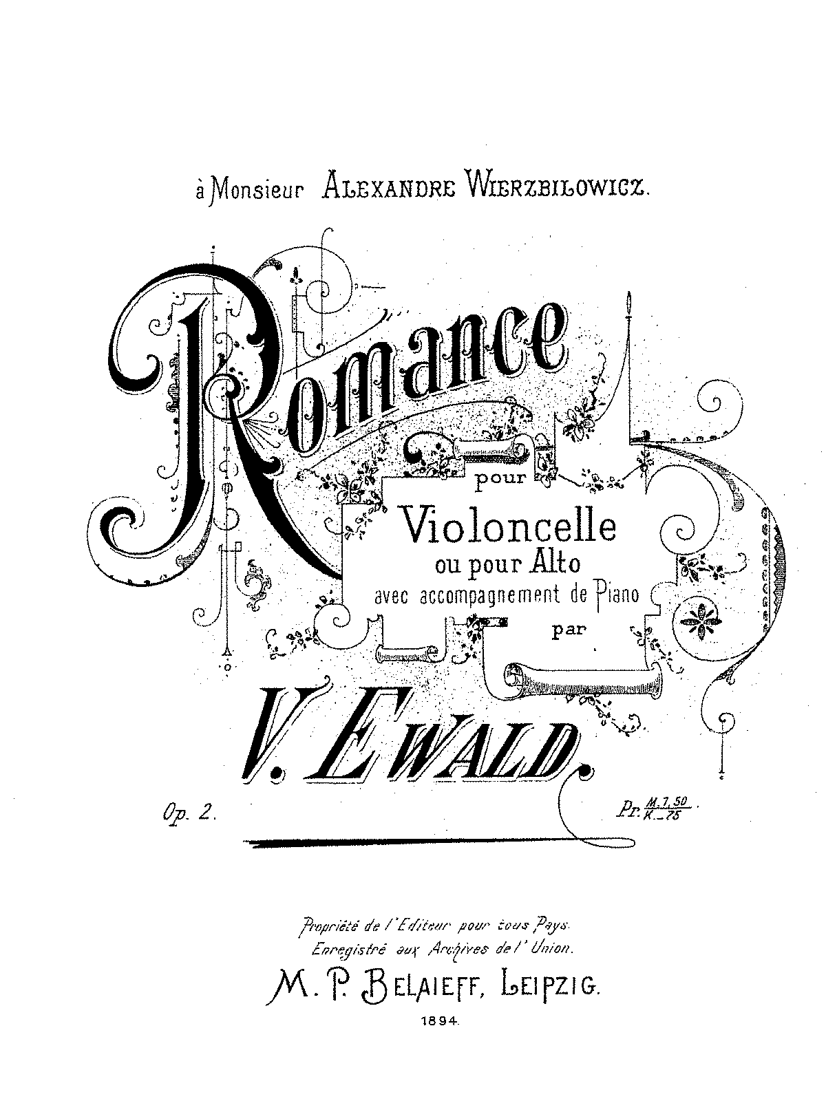 Ewald Victor Romance for Cello or Viola and Piano -Elibron ed-.pdf
