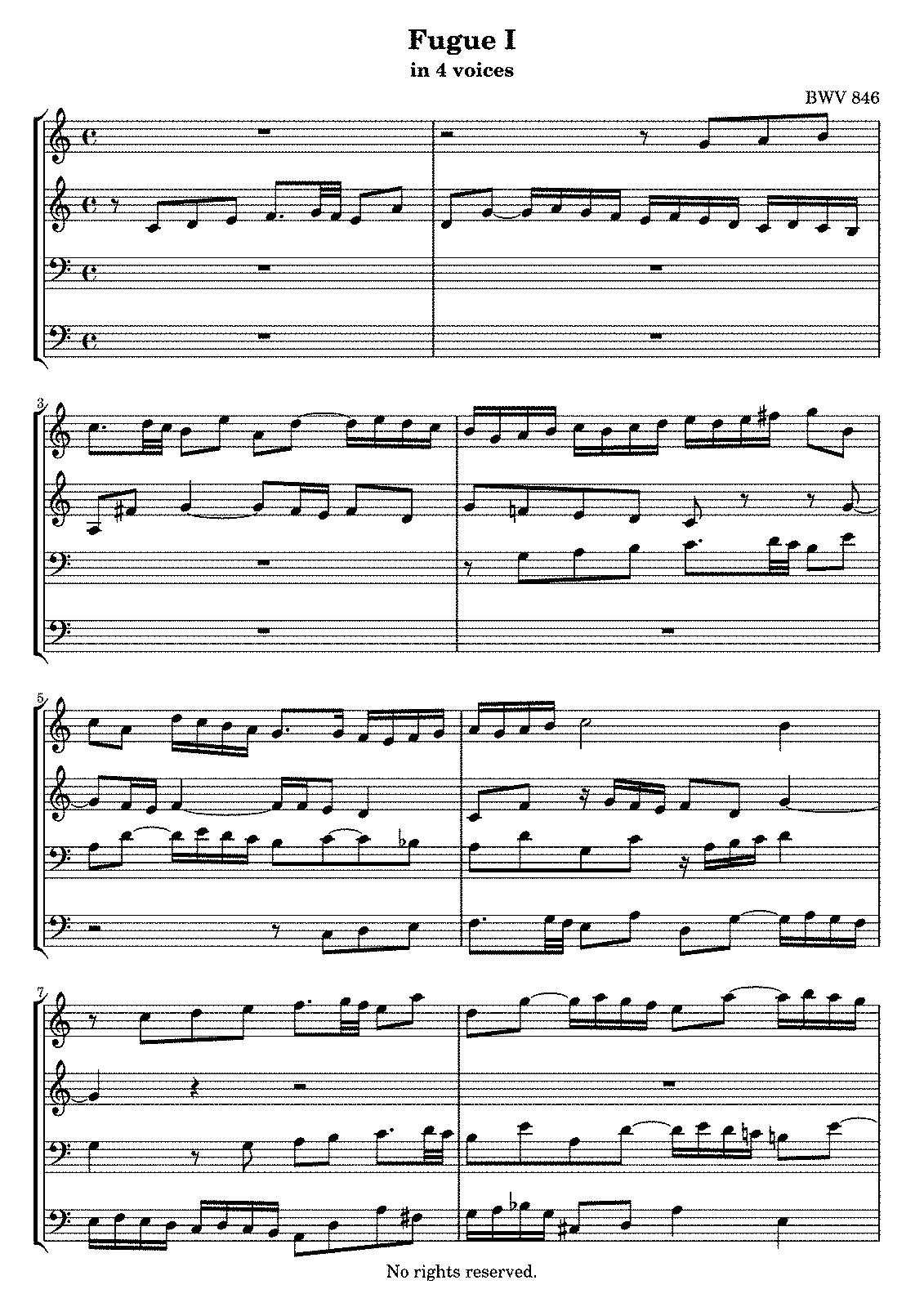 bach prelude in c pdf