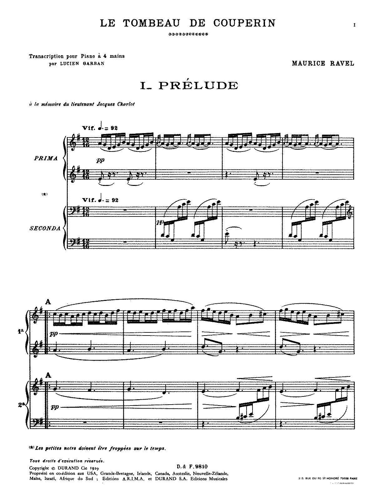 PMLP04975-Ravel - Le tombeau de Couperin (trans. Garban - piano 4 hands).pdf