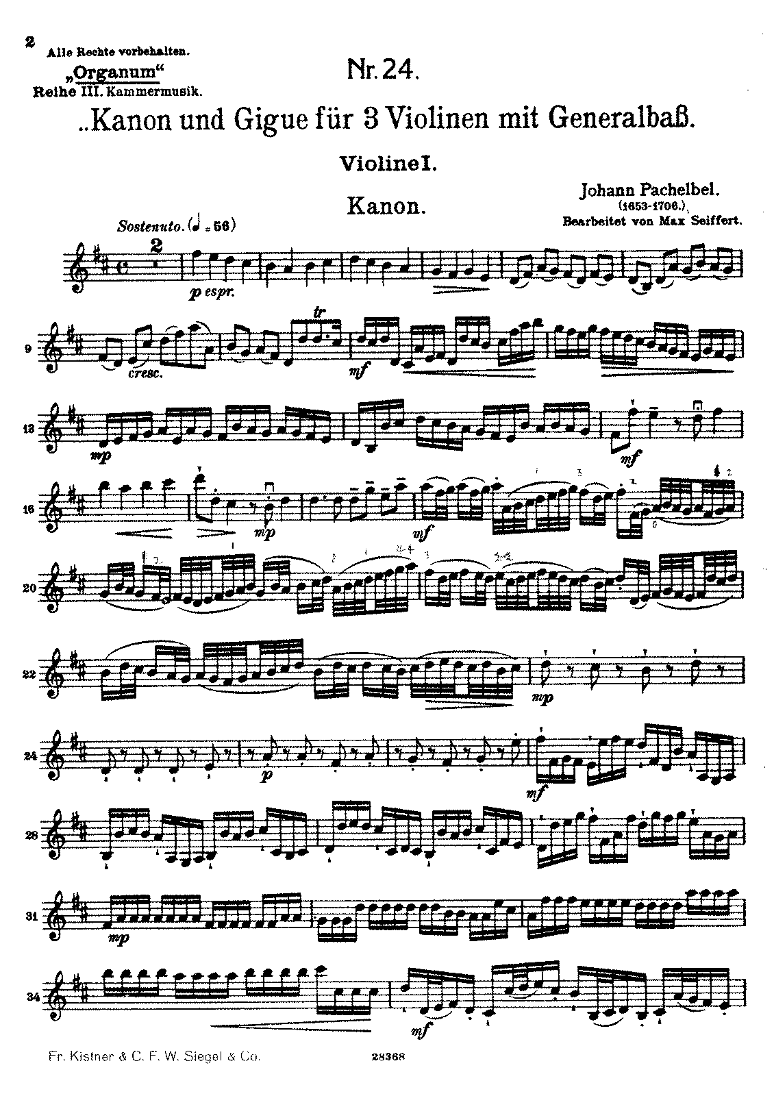 PMLP04611-Pachelbel - Kanon und Gigue Seiffert edition - parts.pdf