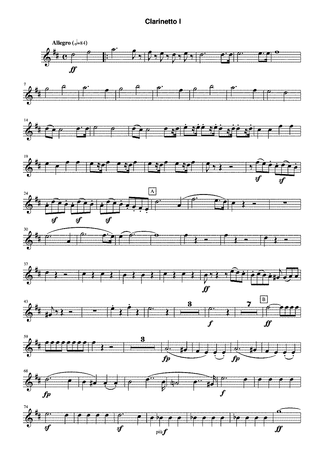 PMLP01586-Beethoven 5th Mvmt 4 transposed Clarinet in Bb.pdf