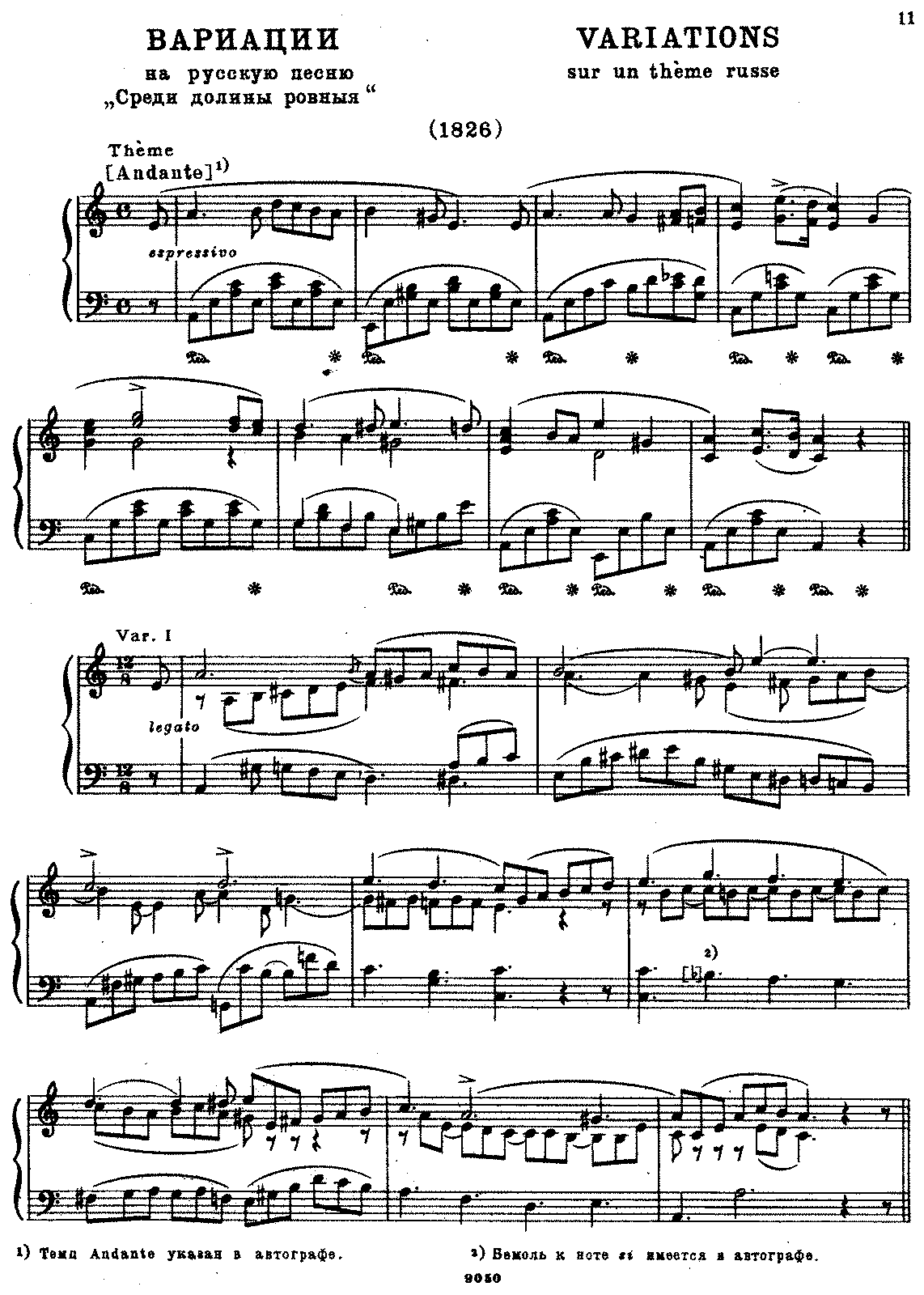 Glinka - Variations in A minor on the Russian Song Down in the Deep Valley.pdf