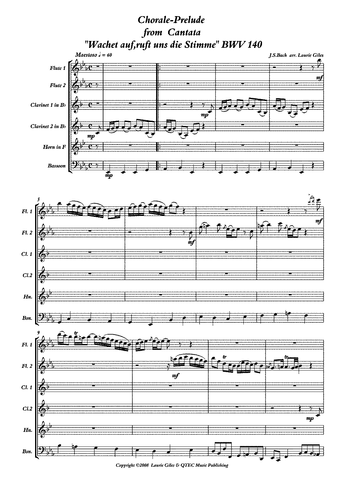 PMLP04172-Bach - Sleepers Wake Chorale Prelude PDF SCORE.pdf