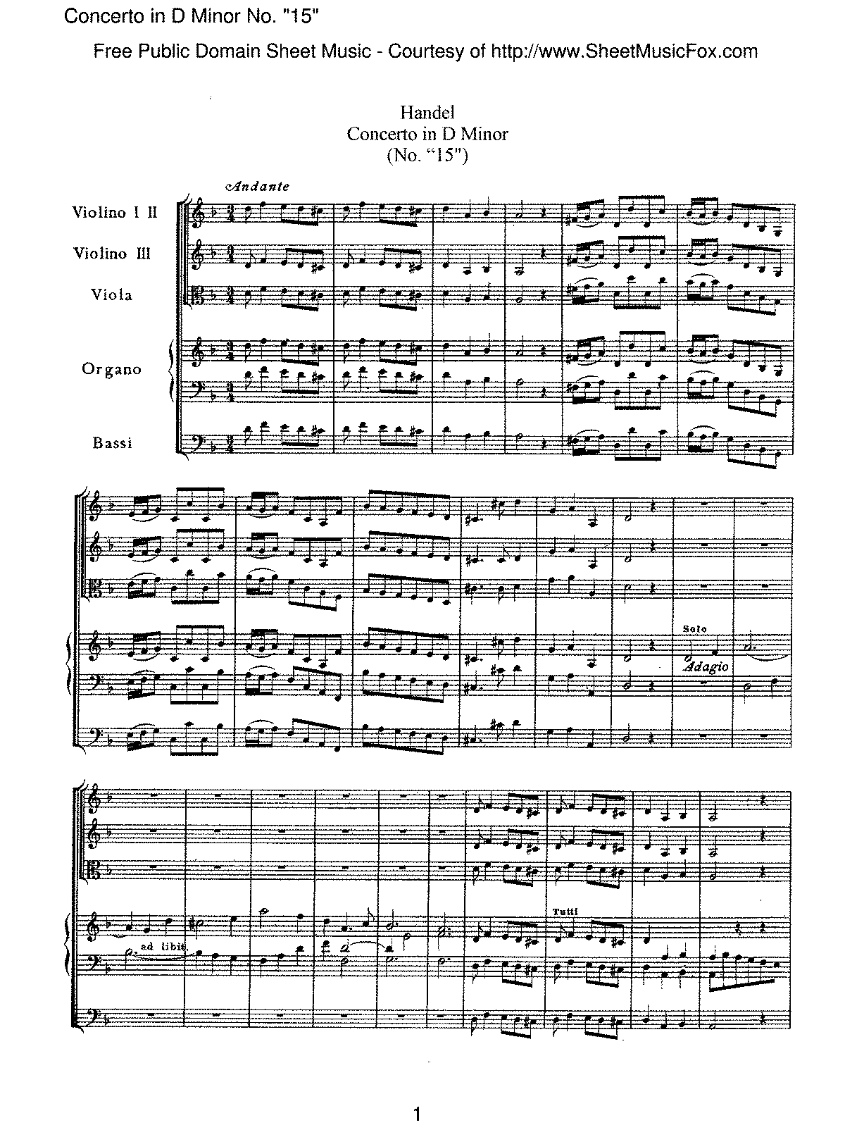 Handel - Concerto in D minor, No. '15'.pdf