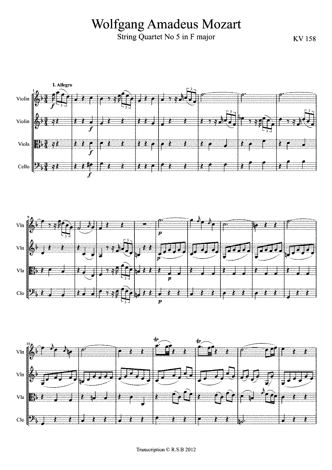 The Life Of Mozart Essay