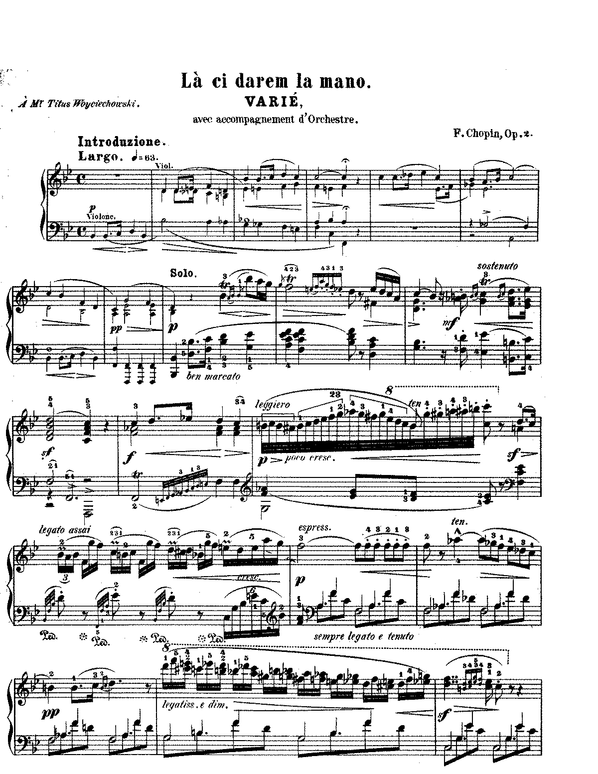 Chopin - Variations on La Ci Darem la Mano, Op 2.pdf