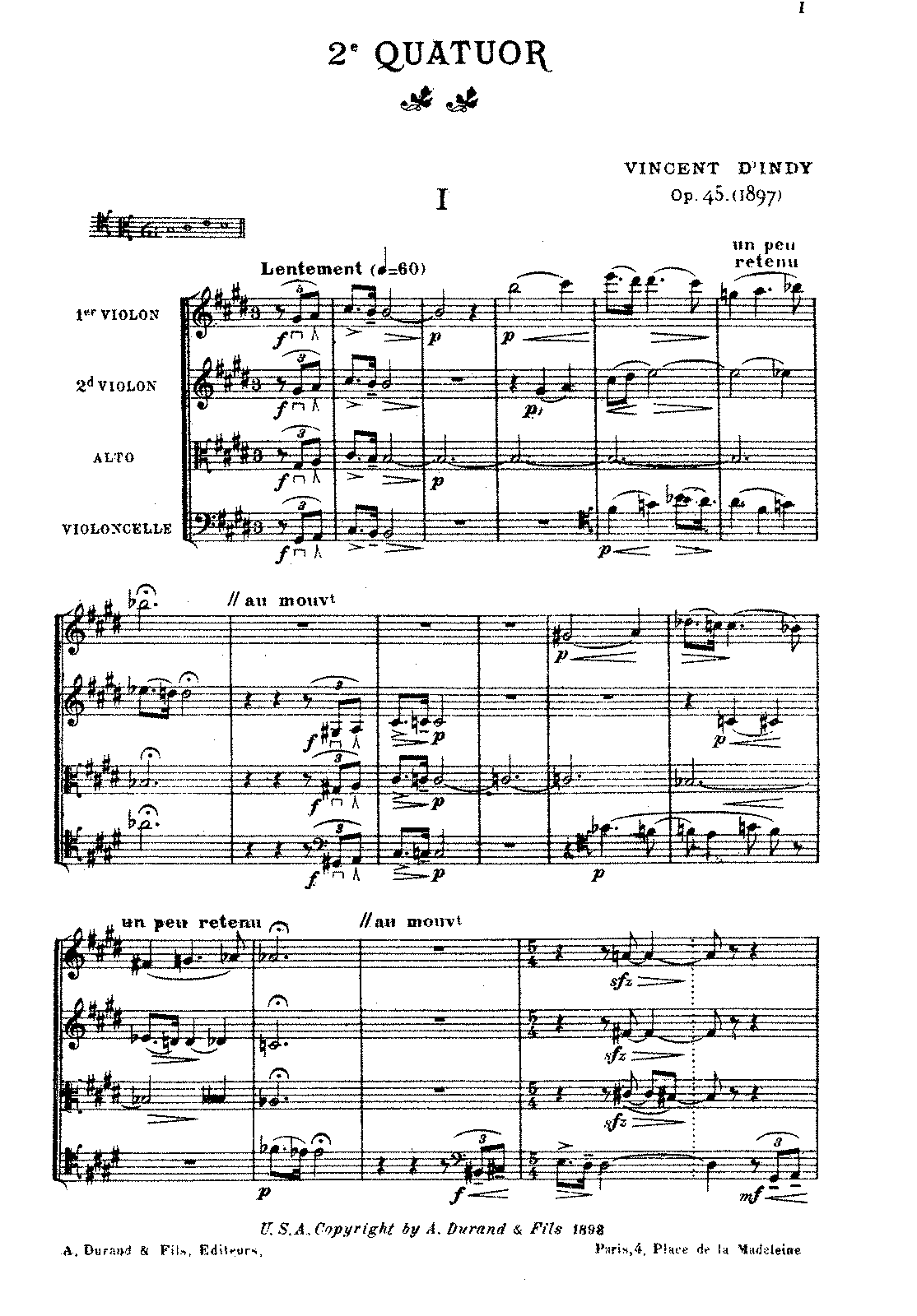 D'Indy - String Quartet No. 2, Op. 45 (score).pdf