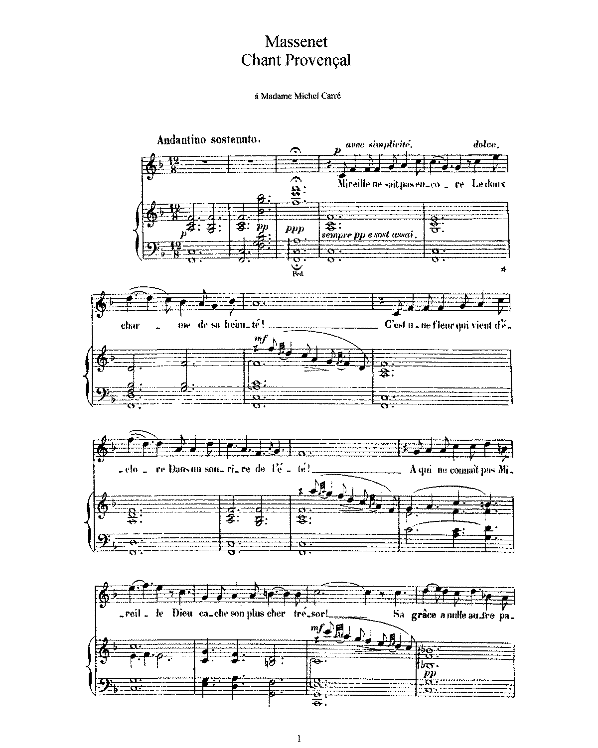PMLP45307-Massenet - Chant provencal HIGH.pdf
